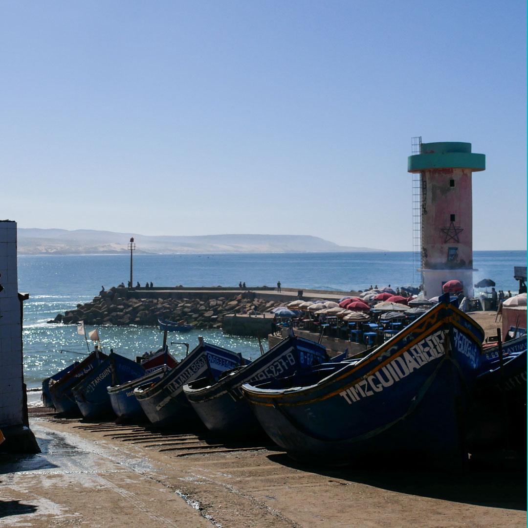 porto peschereccio, Souss-Massa-Draâ, Agadir, Marocco
